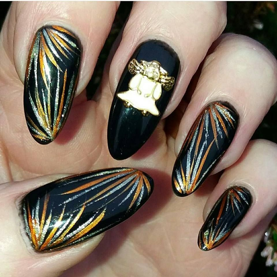 Angel 3d Nail Art Metal Charms Pinterest Angel 3d And Angel Nails