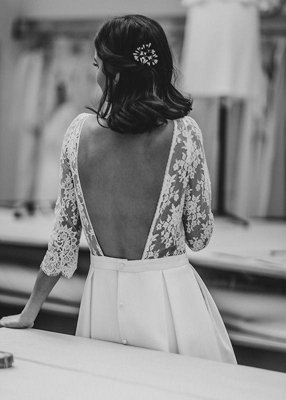 laure de sagazan - création de robes de mariée sur mesure | wardrobe