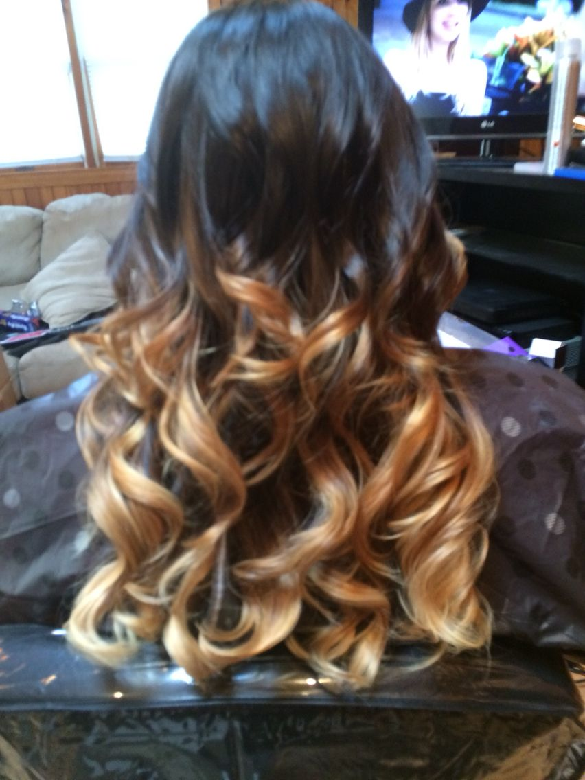 Ombré done by my friend love the tri tone