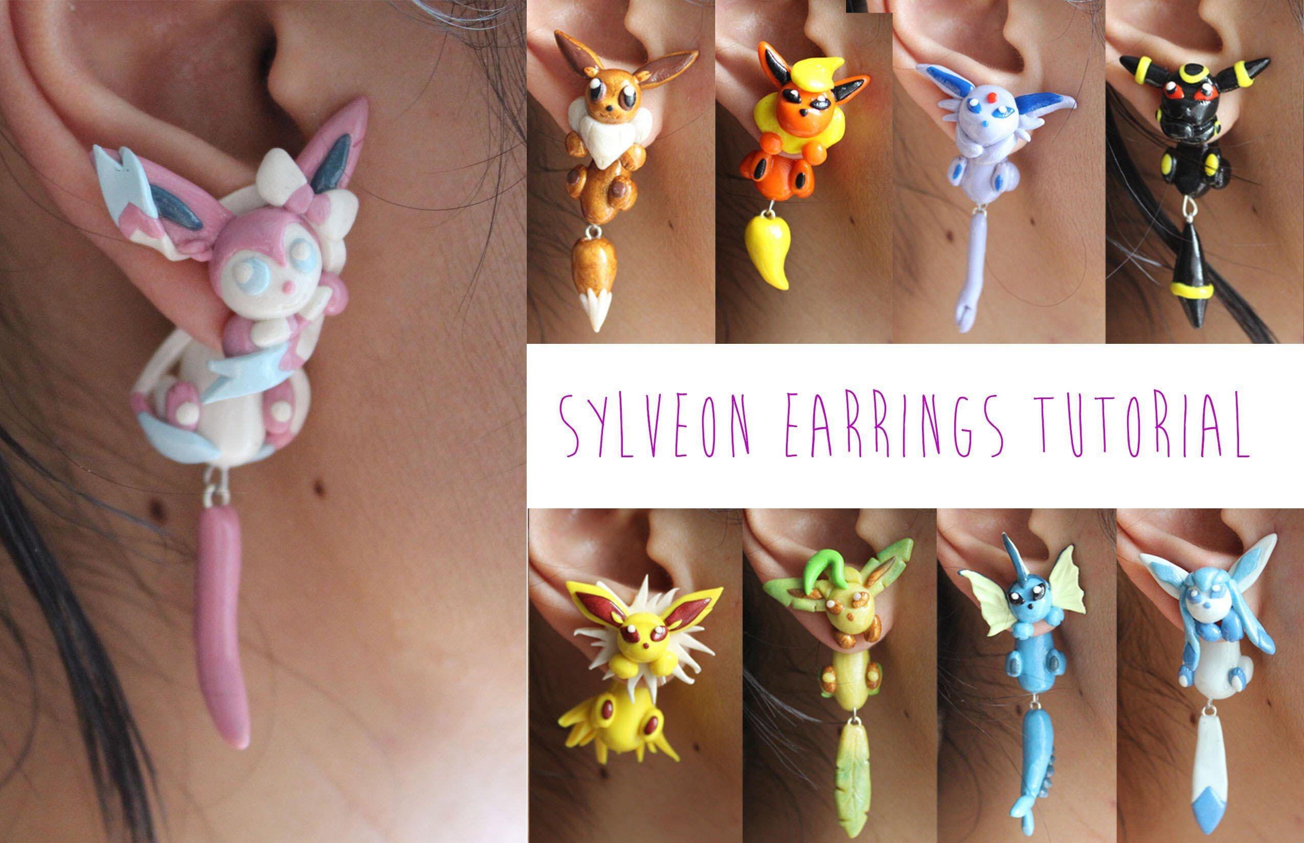 Pokemon earrings!