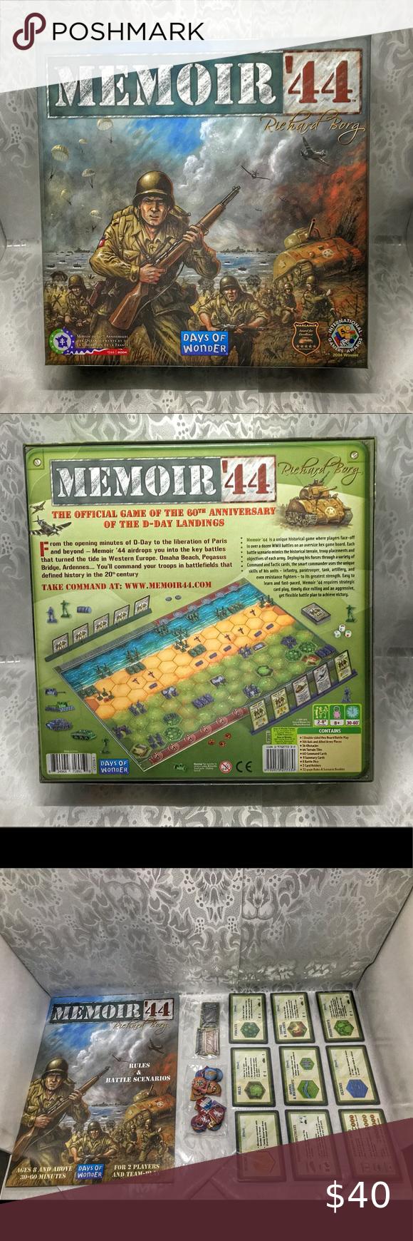 Memoir '44 WW II Core Game in 2020 Memoirs, D day