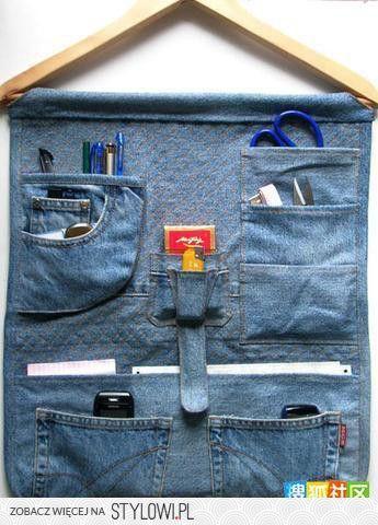 Pinnwand aus Jeans
