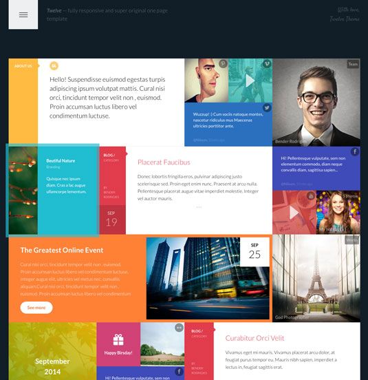 25 topclass website templates Template Website and Graphic