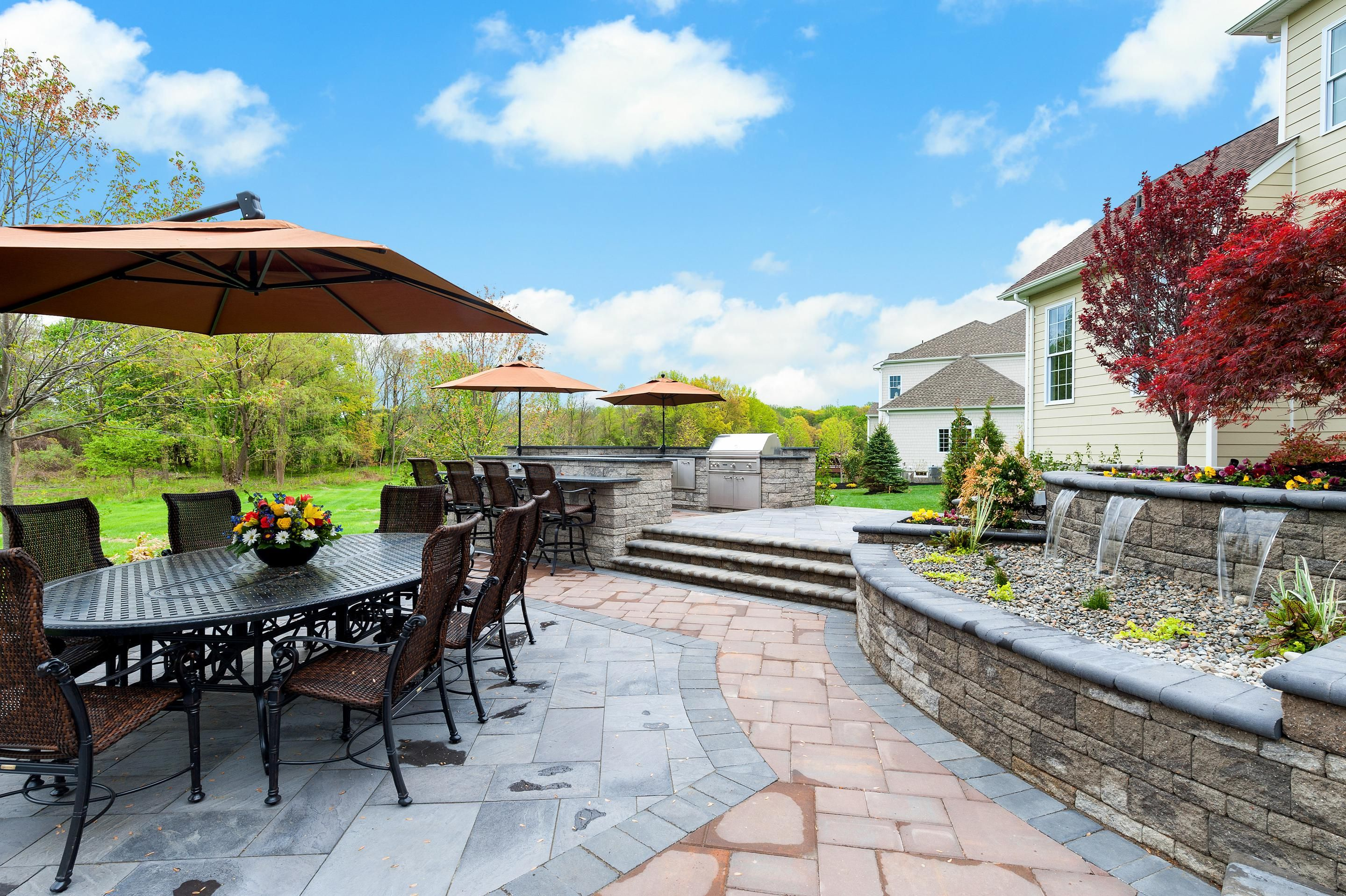 Estates at Bamm Hollow in New Jersey offers designs that allow for easy  outdoor living. Estates at Bamm Hollow in New Jersey offers designs that allow for