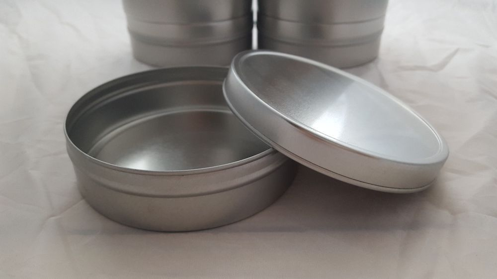 metal dog food container with lid