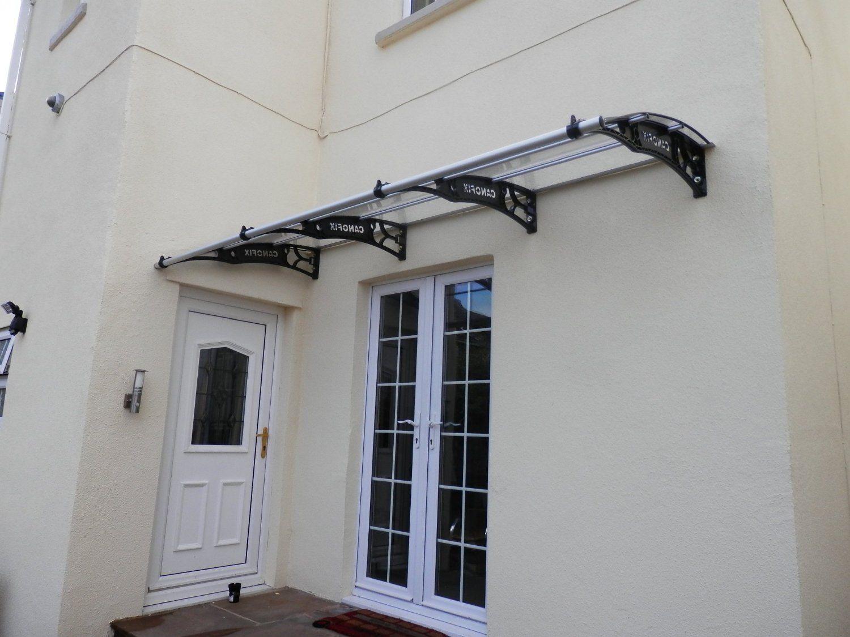 DIY Polycarbonate Cantilever Door Canopy 1500x 5000mm/ Garden Shelter Smoking Shelter Amazon. & DIY Polycarbonate Cantilever Door Canopy 1500x 5000mm/ Garden ...