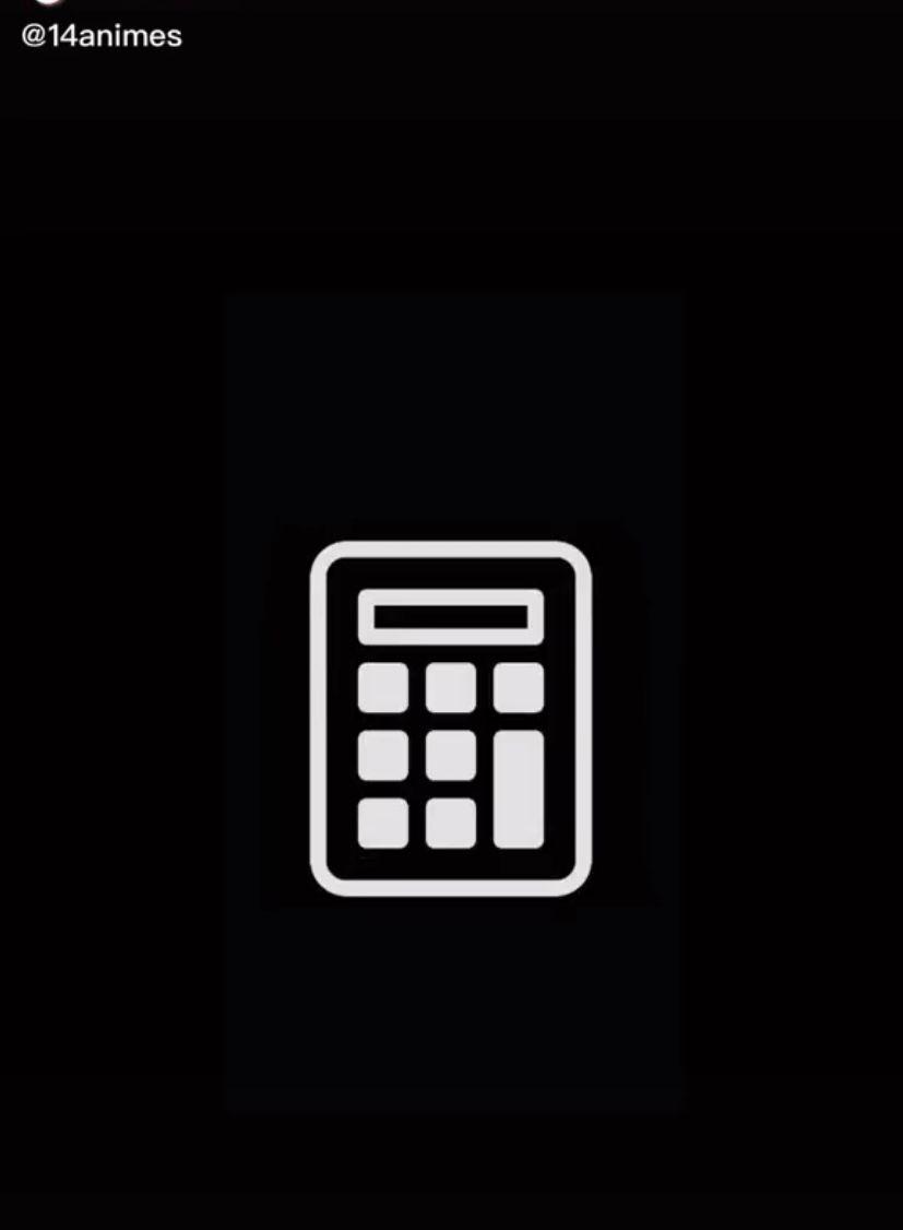 Calculator Black App Iphone Photo App Ios Icon