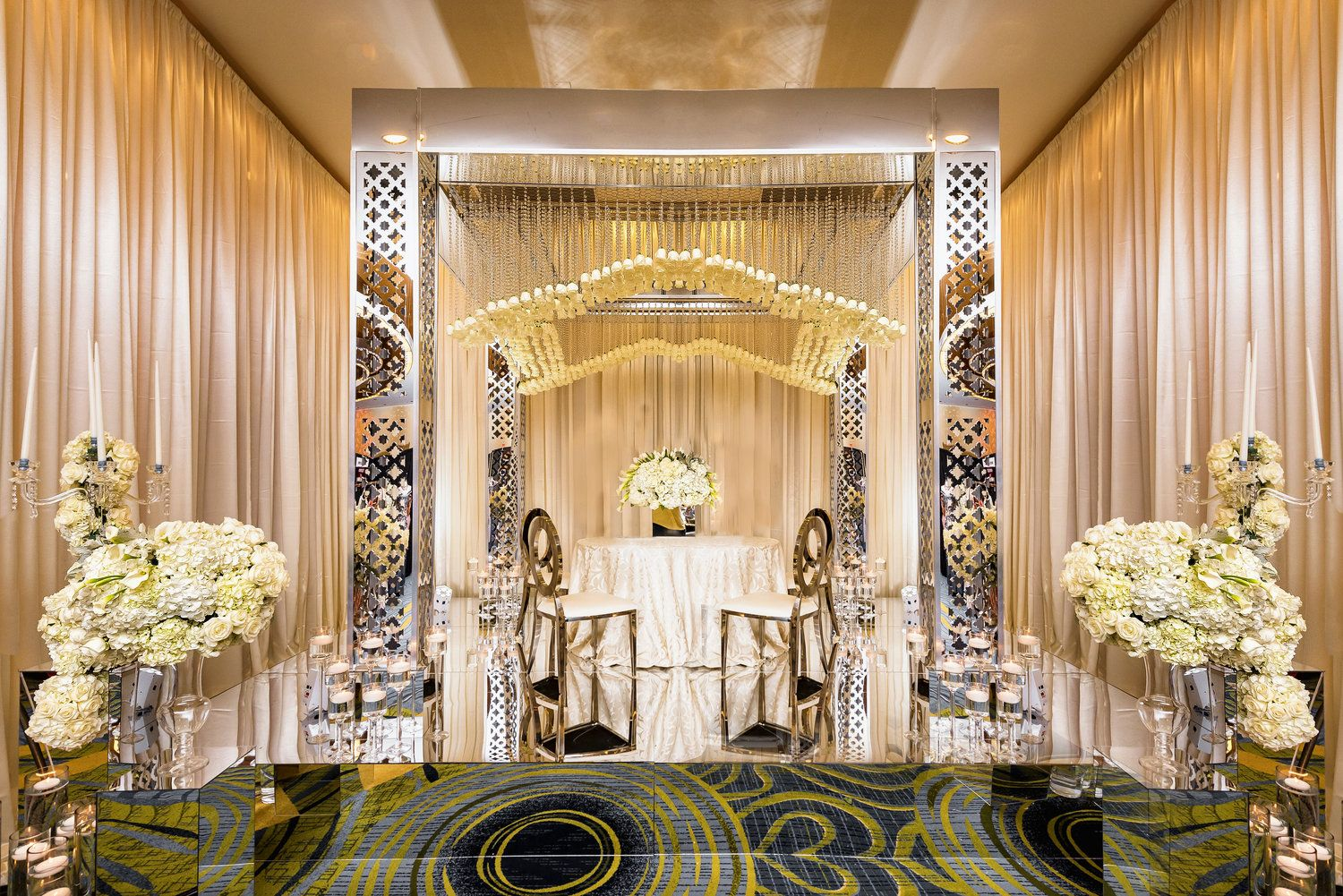 wedding stage decoration pics%0A Stage Backdrop Designs