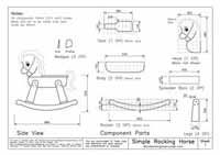Download Rocking Horse Plans Free Print Ready Pdf Toys Rocking