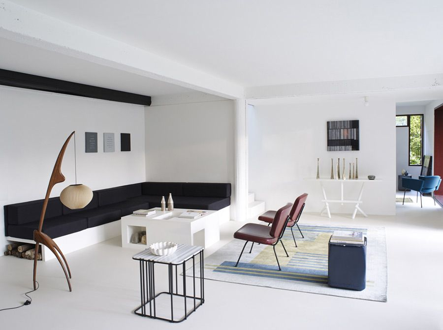 Christophe Delcourt Interiors house Saint Forget