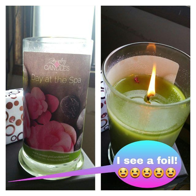 There's nothing more exciting then when you see foil peaking through the wax of your new JIC candle!!!!  http://ift.tt/1mLfunp  Please choose this month's Party at checkout!  #jewelryincandles #soywax #candles #tarts #jewelry #instagram #picoftheday #candleaddict #candleaddiction #candlejunkies #candlelover #waxmelts #love #diamondcandles #scentsy #jewelscent #prizecandles #yankeecandle #charmedaroma #fragrantjewels #luckygirlcandles #jewelrycandles #ringreveal #fashion #avon