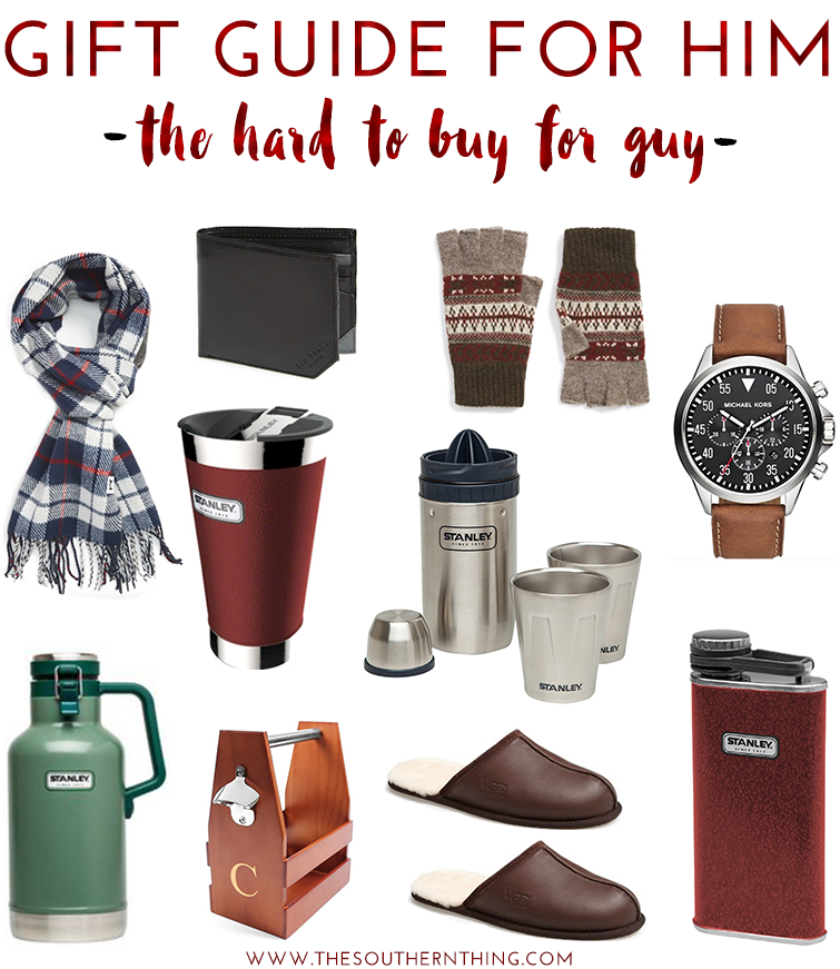 Gift Guide For Him The Hard To Buy For Guy Gift Guide For Him