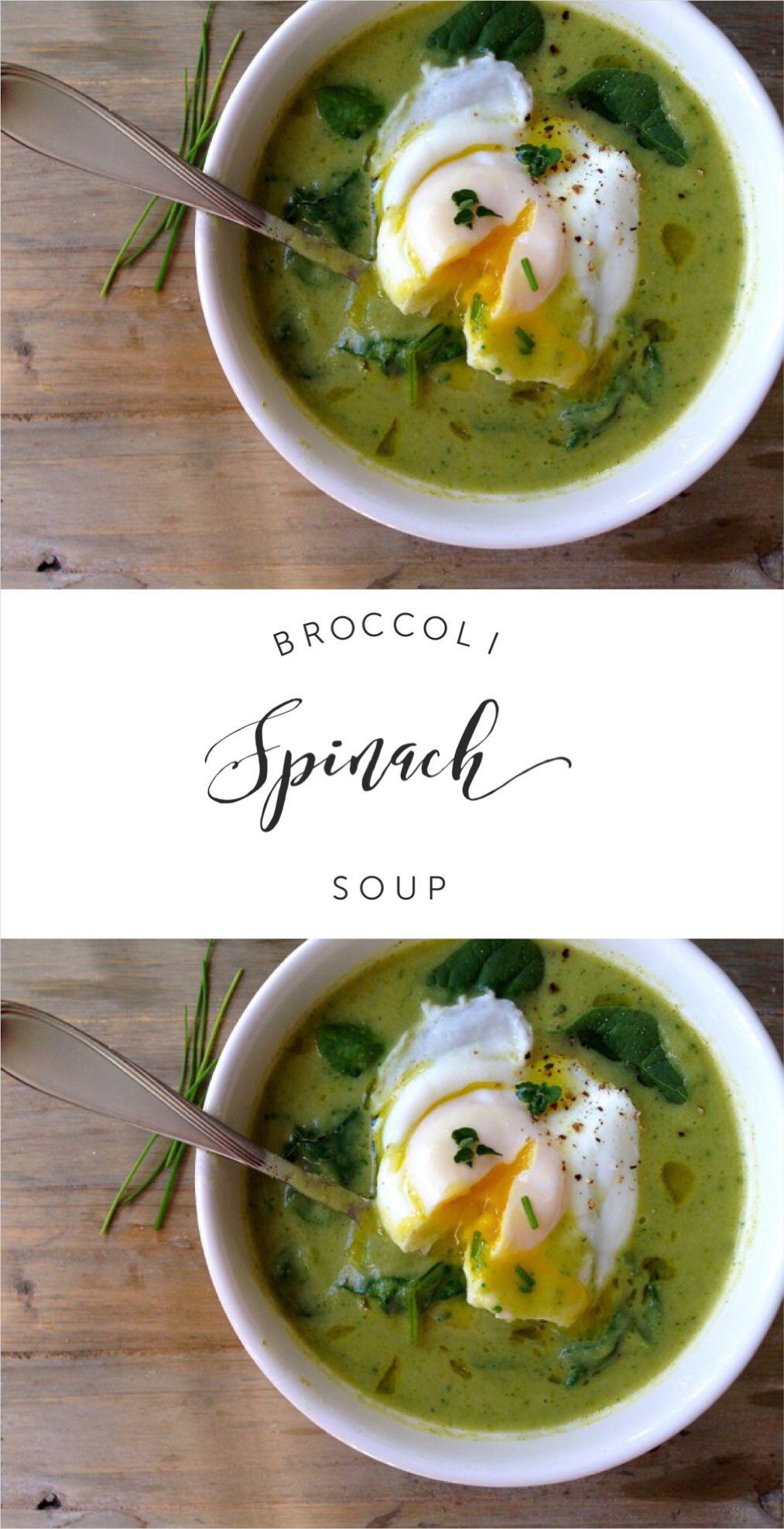 Broccoli Spinach Soup Recipe | CiaoFlorentina.com @CiaoFlorentina