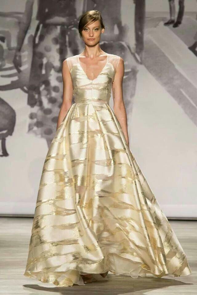 Leela Rose Gold Gown