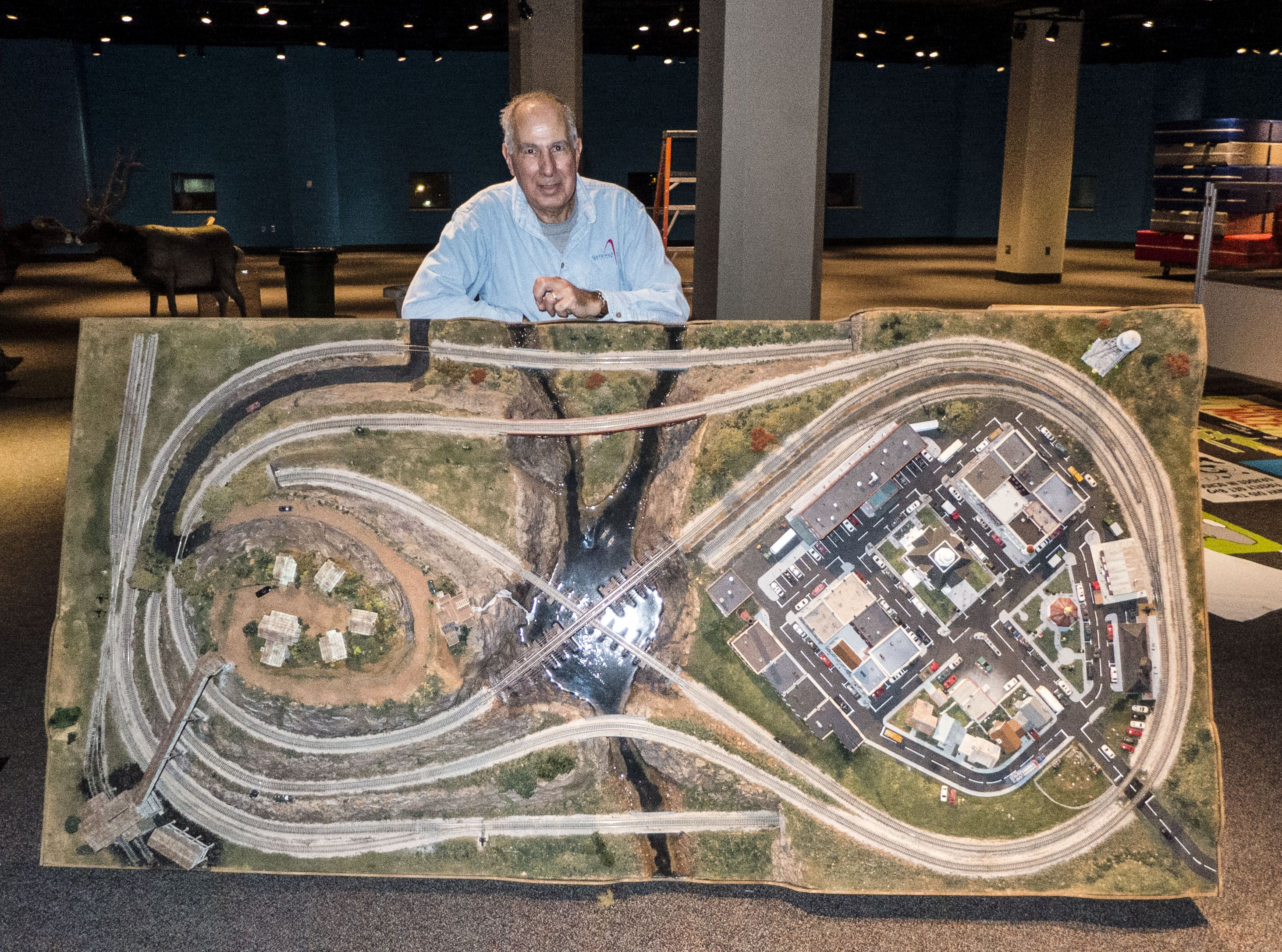 ho train layout built with foam board - Google Search ...