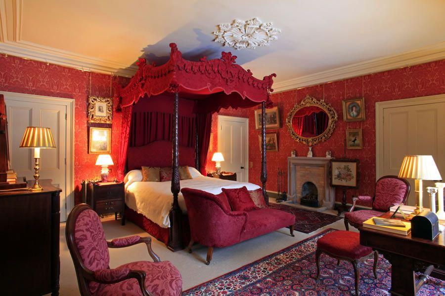 dream master bedroom%0A Aldourie Castle in Scotland bedroom