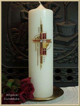 Moderne hochzeitskerze maja kerzen pinterest for Osterkerzen modern