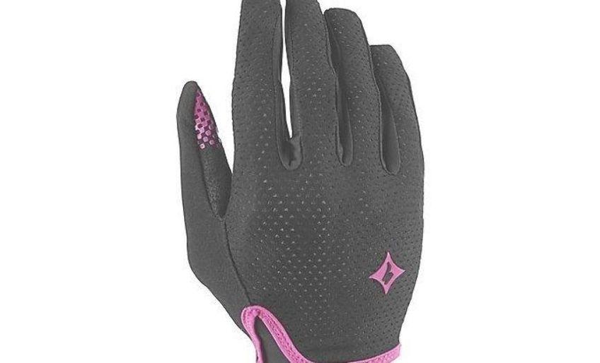 Specialized Womens Grail Long Finger Mountain Bike Gloves Black