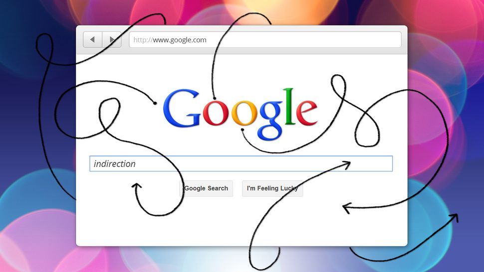 How can i turn off google search results indirection