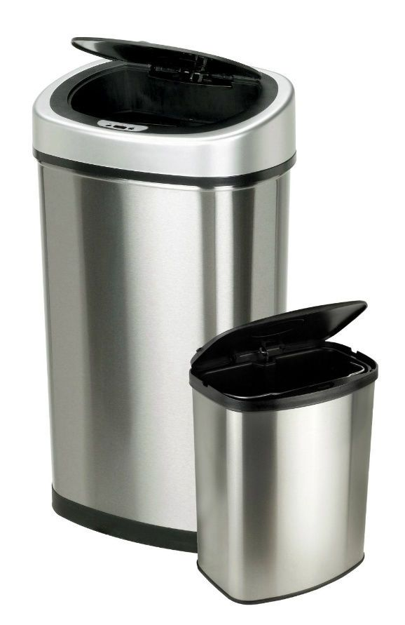 motion sensor trash cans automatic touchless odor sealer garbage rh pinterest cl