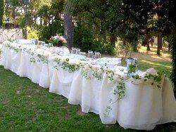 Id es de d co mariage id es de d co deco mariage et les tables - Idee deco buffet mariage ...