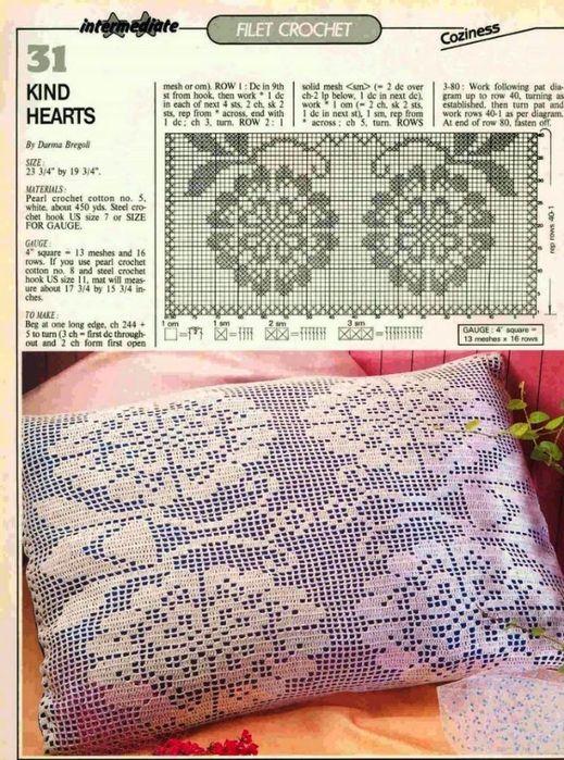 magic crochet вязание крючком ажурных салфеток