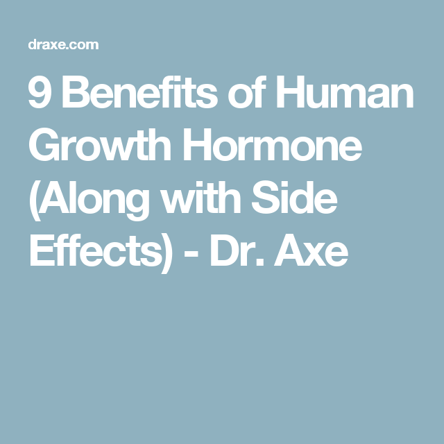 The Benefits Dangers Of Human Growth Hormone Boost Hgh