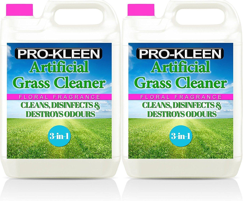 2 x 5 Litres ProKleen Artificial Grass Cleaner Floral