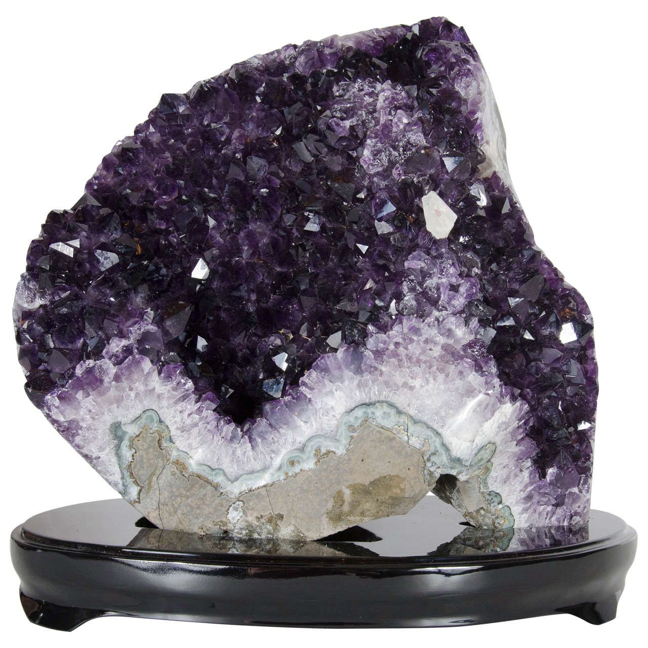 Spectacular And Monumental Natural Crystal Amethyst Rock Specimen 1stdibs Com Amethyst Rock Amethyst Crystals
