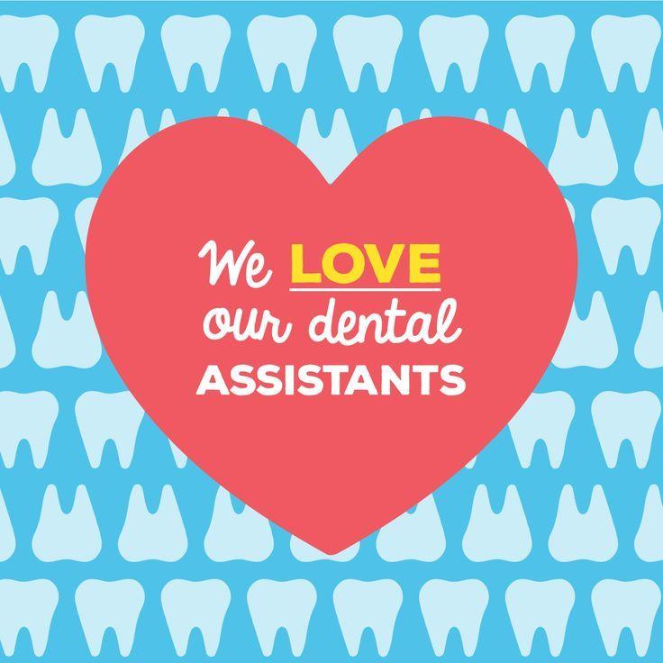 IT'S DENTAL ASSISTANT APPRECIATION WEEK! Our assistants
