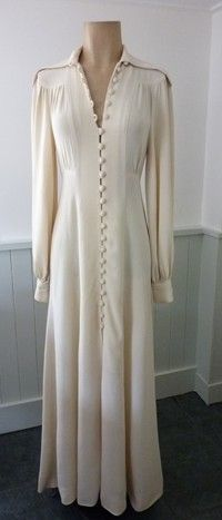 Ossie Clark Dress I Got Married In This 1975 But The Ons On Mine Stop At Waist Still Treasure