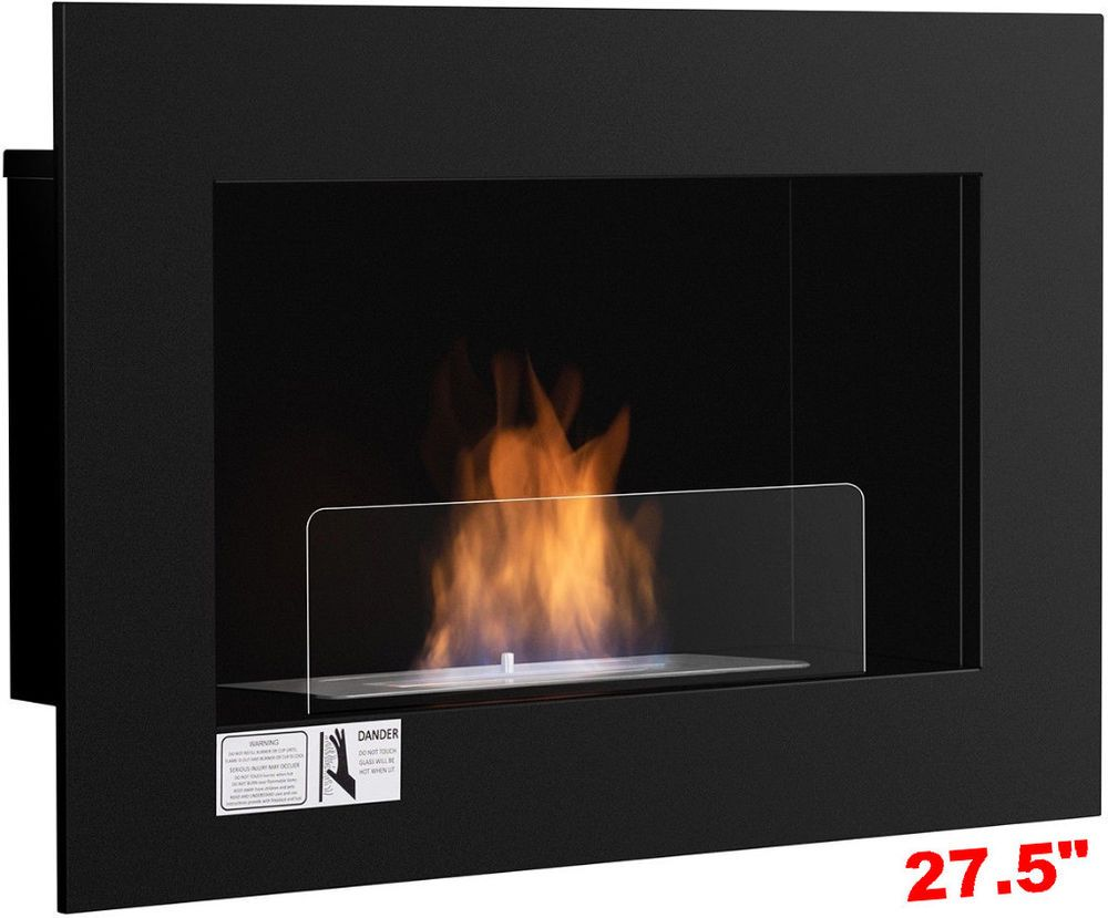 fireplace heater wall mounted ventless hanging bio ethanol burner rh pinterest com