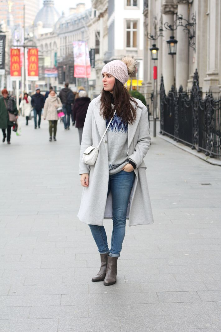 53639406939 Outfit: Grey winter layers | Outfit Inspiration - Fall/Winter ...