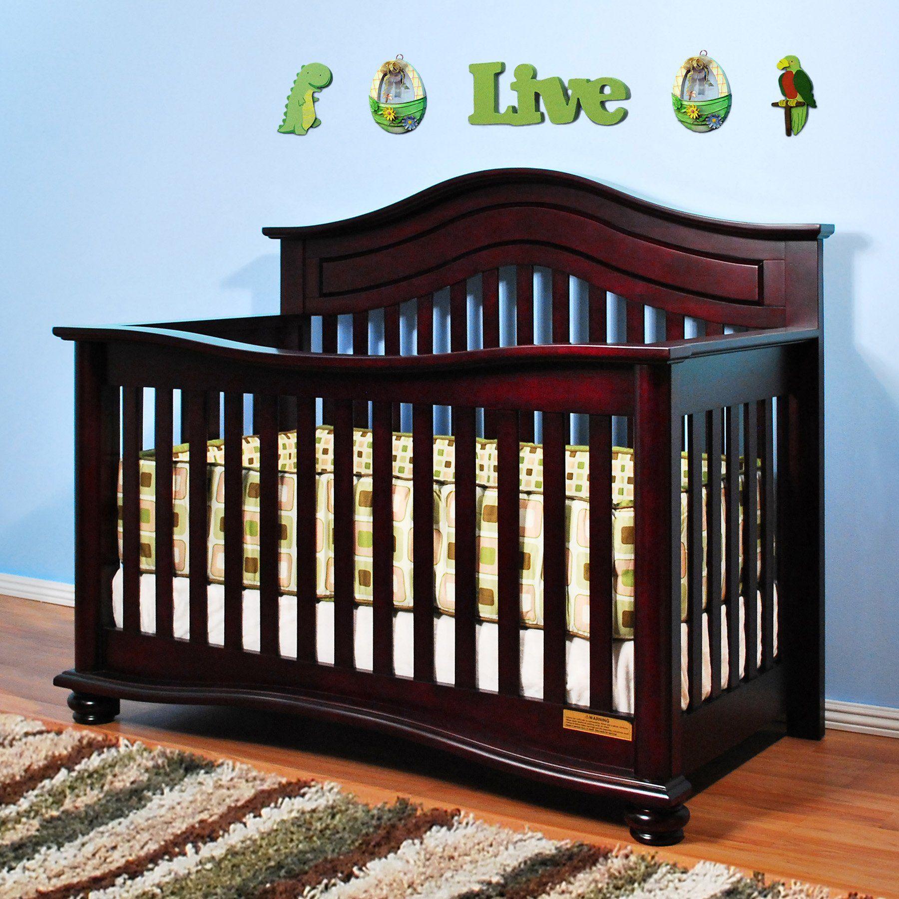 Jordana Lia 3 In 1 Convertible Crib