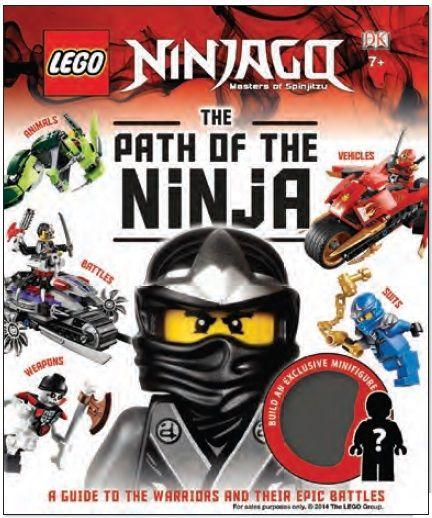 DK Books 2015 New Ninjago Books