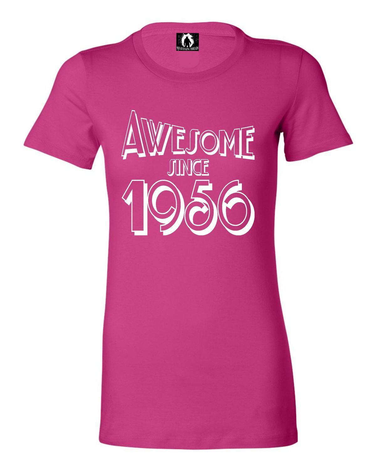 Juniors Awesome Since 1956 Funny Birthday T-Shirt