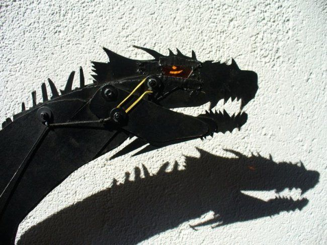 Dragon, gros plan