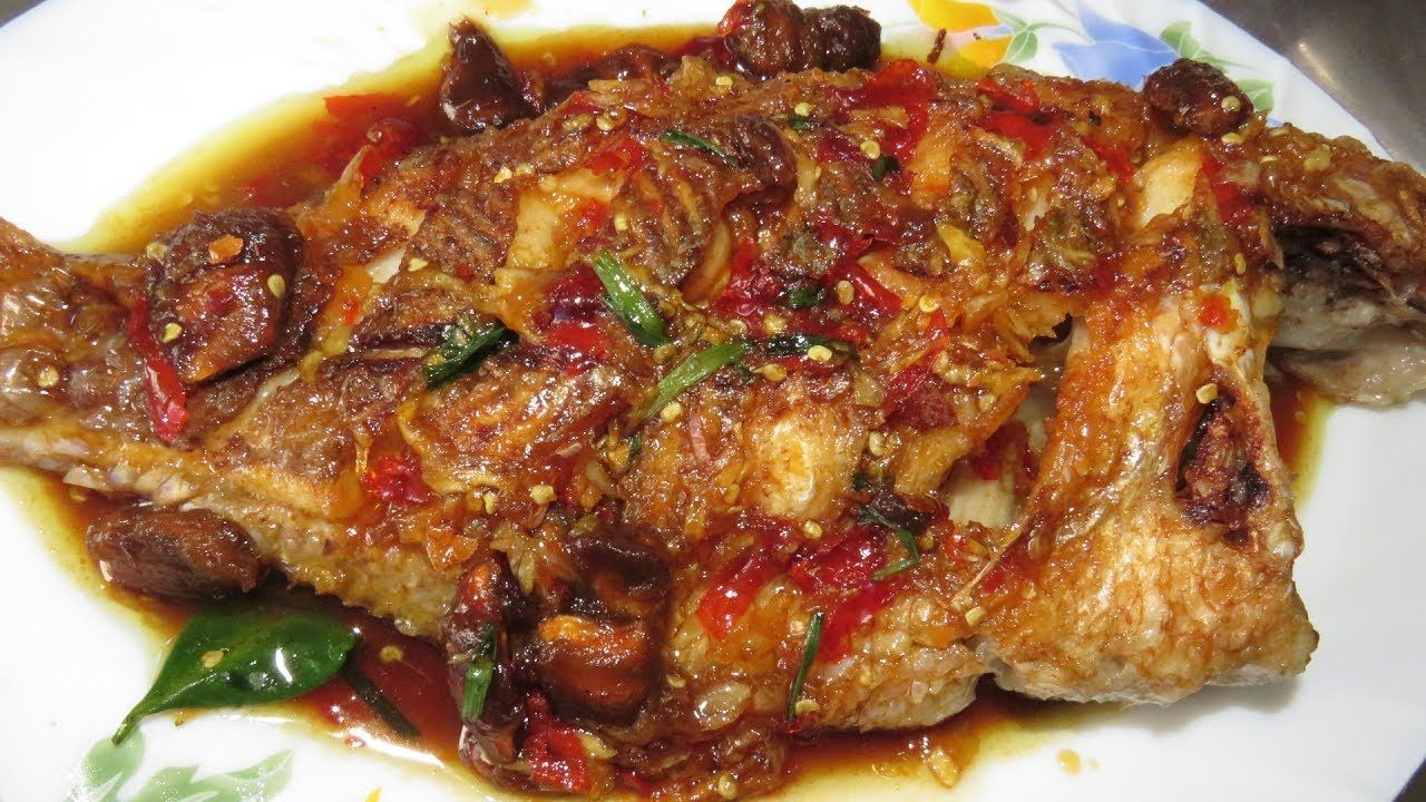 fried fish with tamarind khmer cooking food at home asian food rh pinterest com
