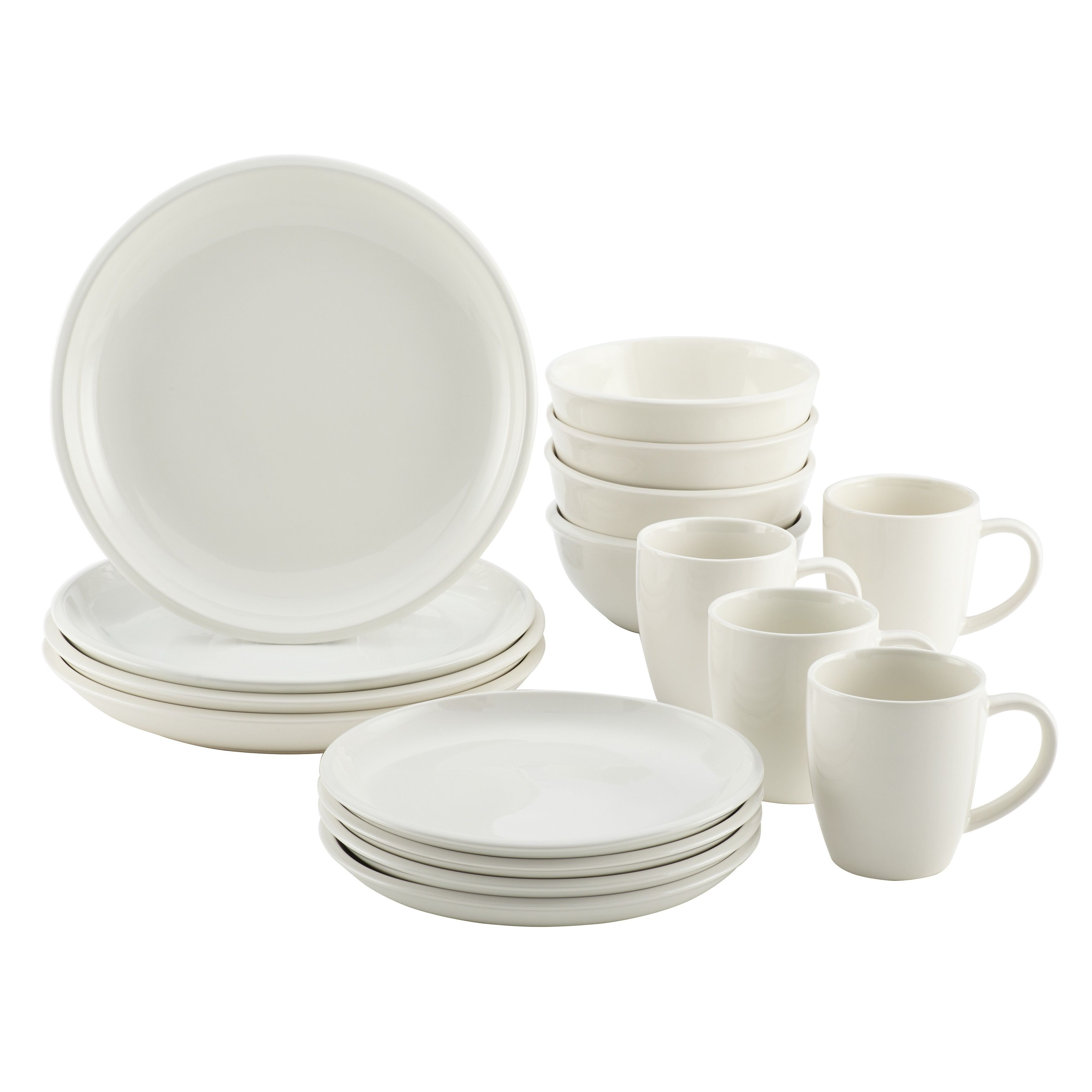 This dinnerware set comes in a variety of bold two-tone hues that add  sc 1 st  Pinterest & This dinnerware set comes in a variety of bold two-tone hues that ...