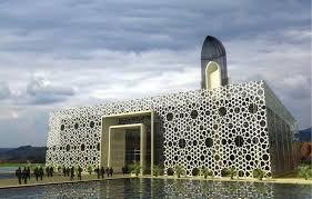 Image Result For Architecture Of Modern Mosque Arsitektur Islami Arsitektur Masjid Desain Arsitektur
