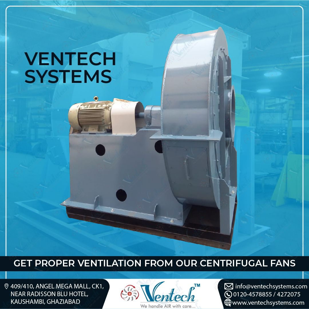 Ventech provides you proper ventilation from the help of