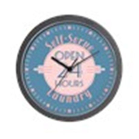 Self Serve Laundry Wall Clock on CafePress.com