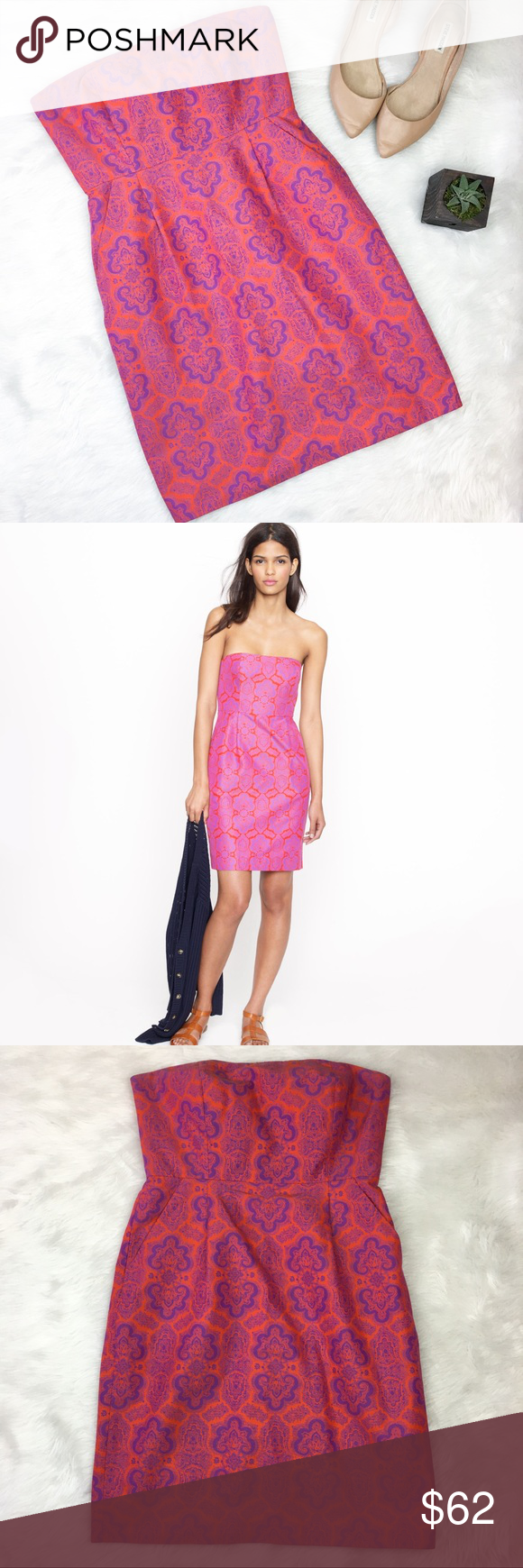 J.Crew Ella Dress in Medallion Paisley