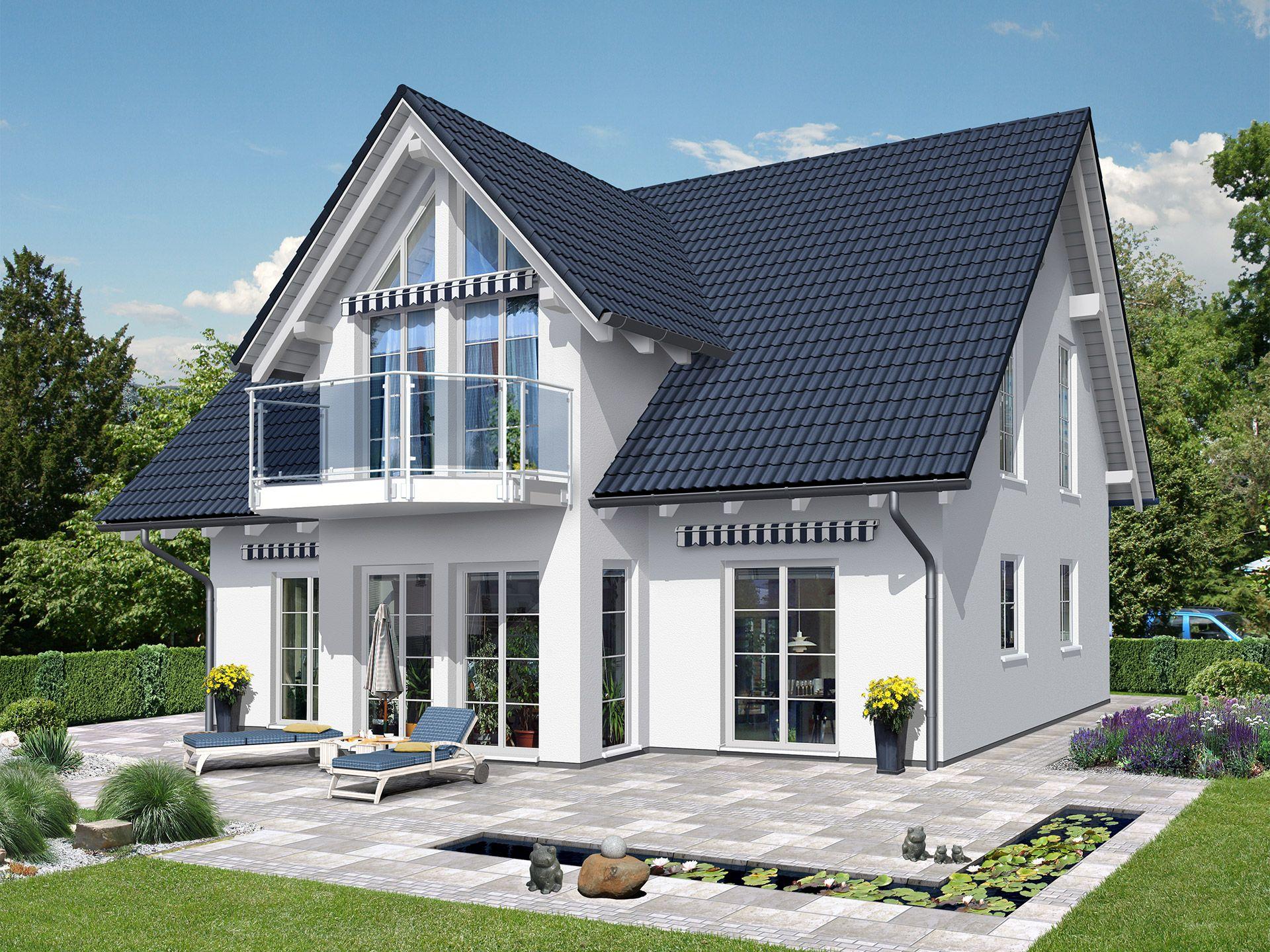 beispielhaus 19 0 einfamilienhaus von ytong bausatzhaus. Black Bedroom Furniture Sets. Home Design Ideas