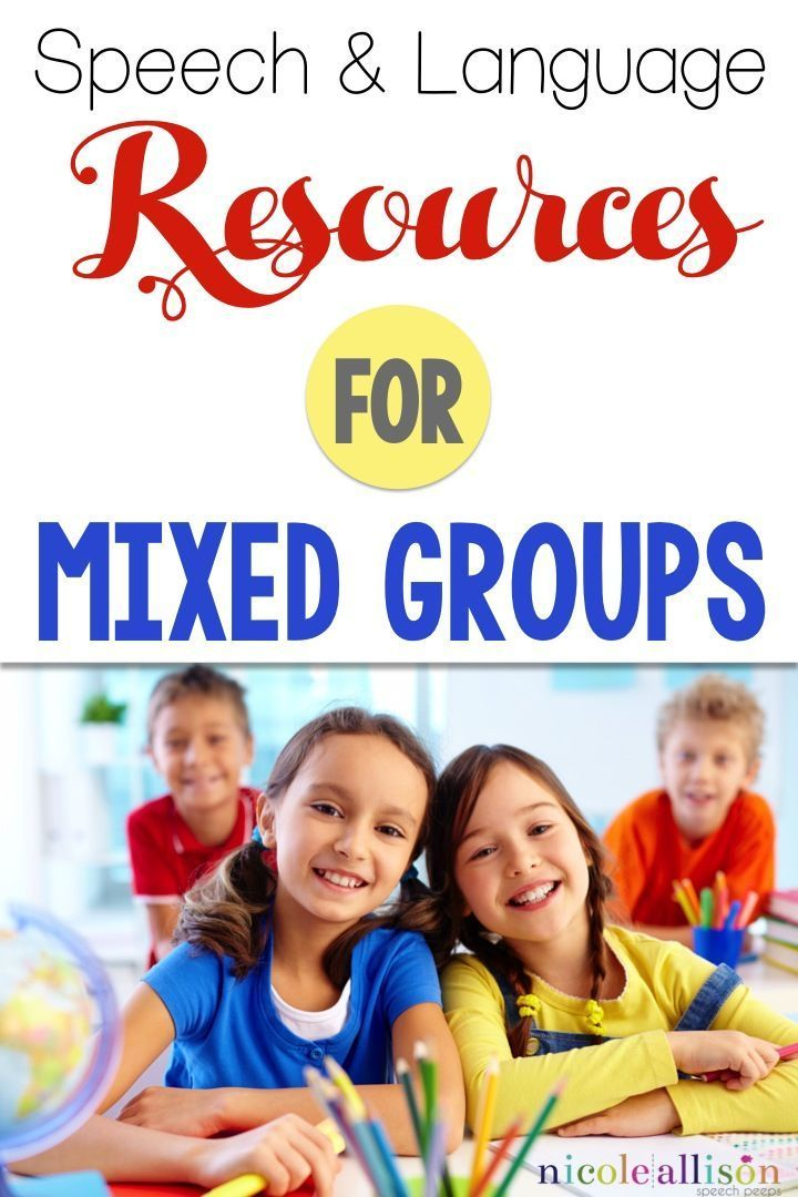 Top Resources for those tricky mixed groups!
