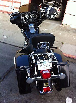 Harley Detachable Backrest Sissy Bar And Luggage Rack For Davidson Touring 97 08