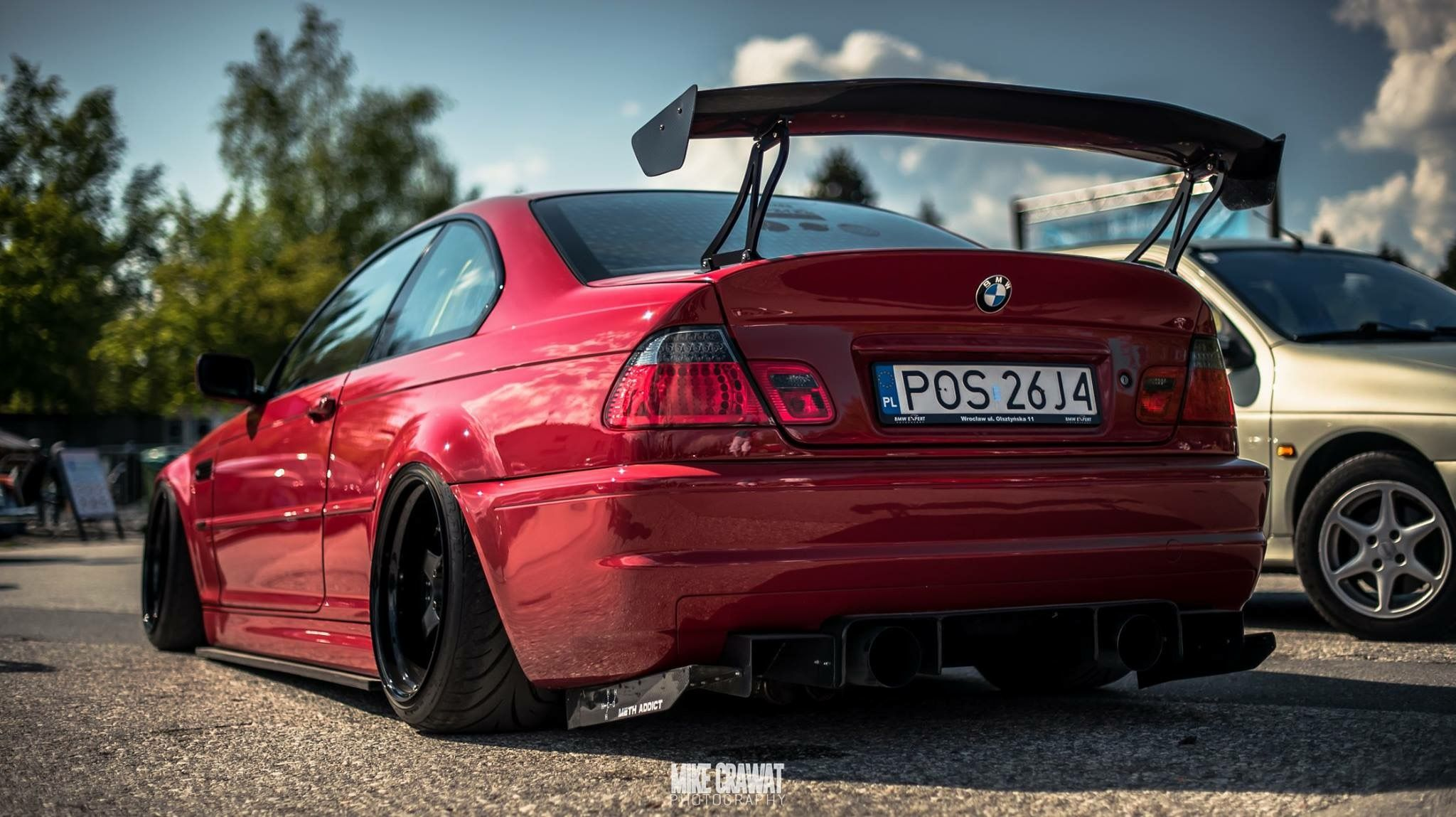 #BMW_E46_M3 personally remove spoiler | Автомобили