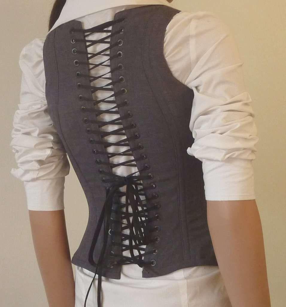 Corset for the business professional diy corset diy