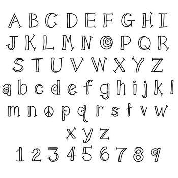 Fonts Teachingninjas Shadow Lettering Alphabet Fonts Handwriting Alphabet Hand Lettering Alphabet