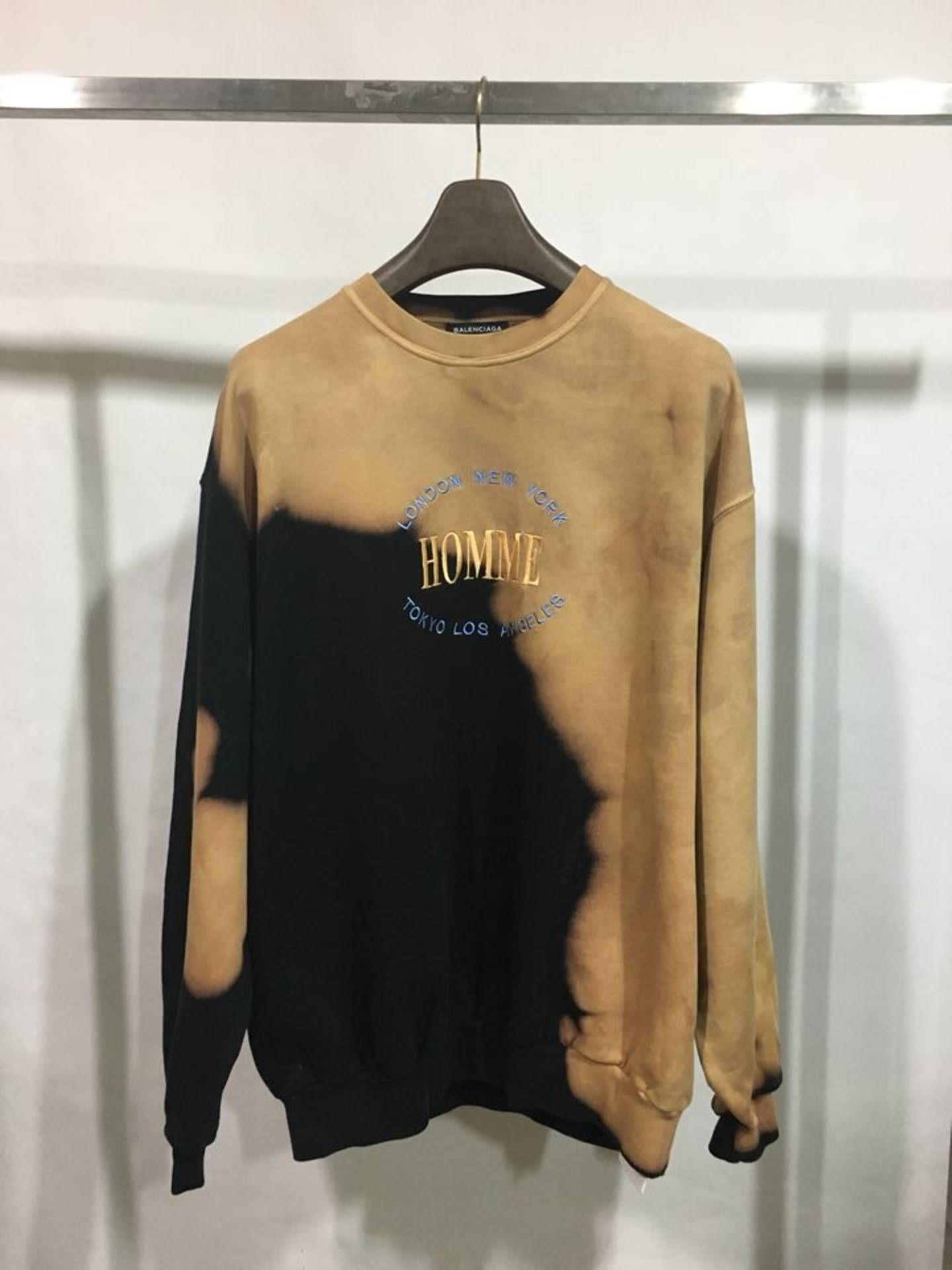ffe05039e918 Balenciaga Homme Sweatshirt in 2019 | May 2018 Style | Balenciaga ...